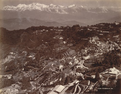 General view Darjeeling.